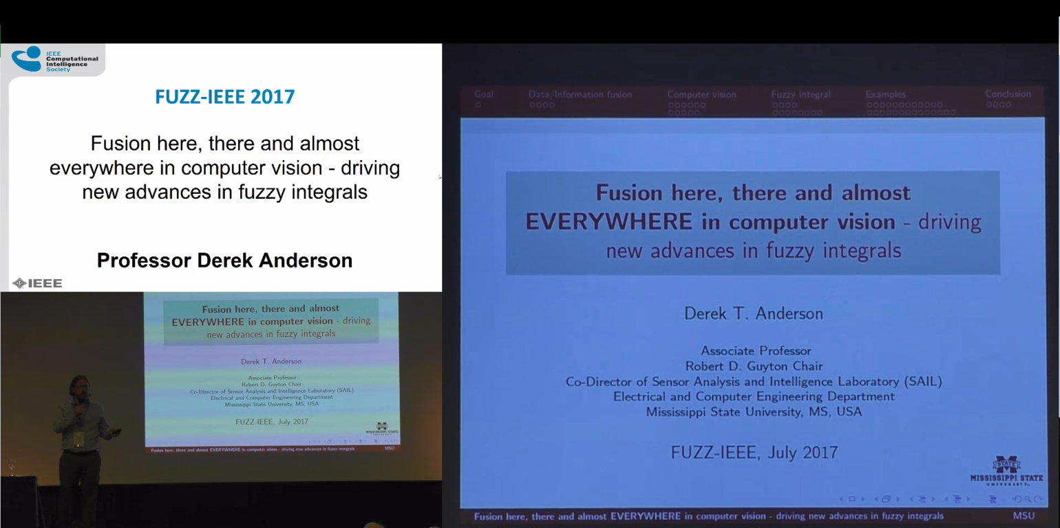 Fusion here, there and almost everywhere in computer vision - driving new advances in fuzzy integrals