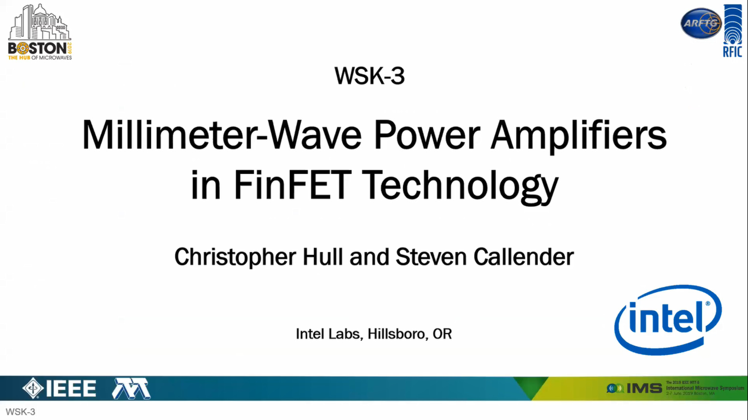 "CASS Lecture by Dr. Chris Hull, ""Millimeter-Wave Power Amplifiers in FinFET Technology"""
