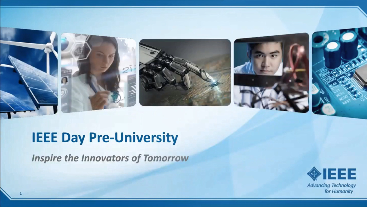 IEEE DAY Pre-University (Try Engineering)