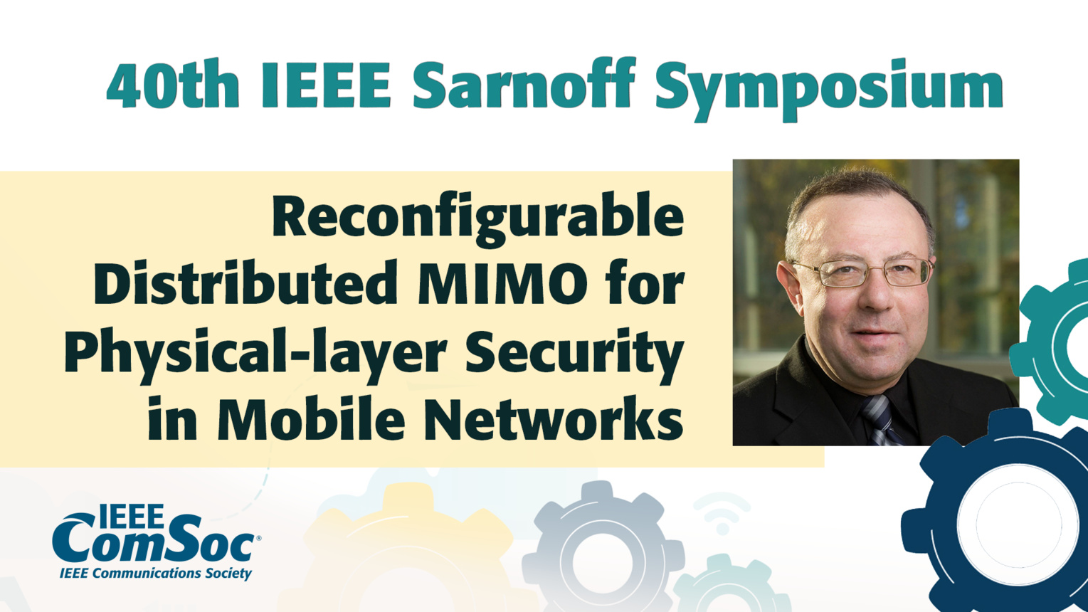 Reconfigurable Distributed MIMO for Physical-layer Security - Zygmunt Haas - IEEE Sarnoff Symposium, 2019