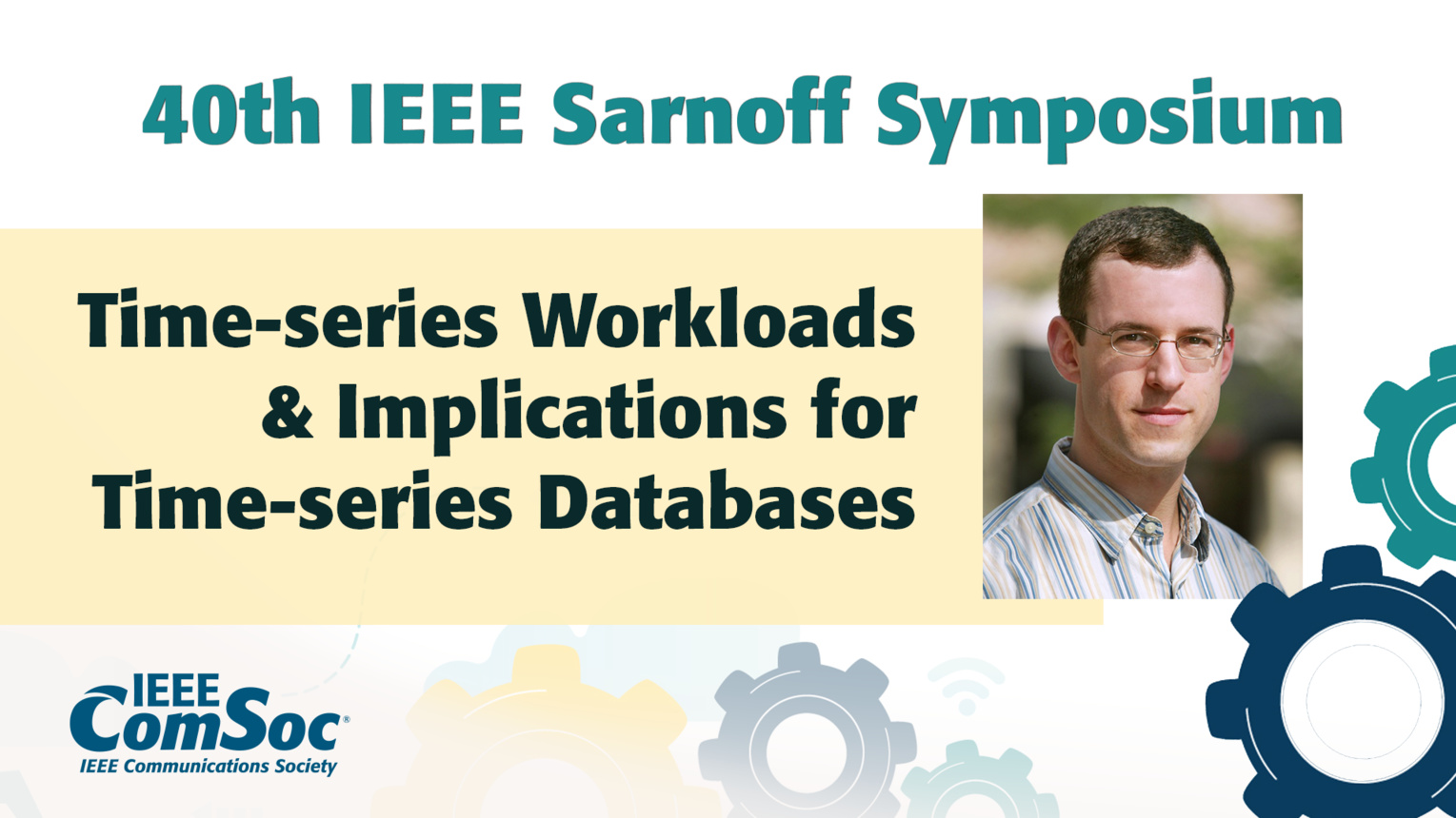 Time-series Workloads and Implications for Time-series Databases - Michael Freedman - IEEE Sarnoff Symposium, 2019