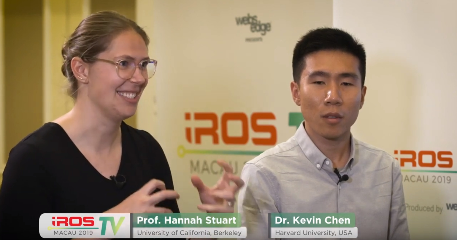 IROS TV 2019- How to Build a Robot: Marine Bio-inspired Soft Robotics
