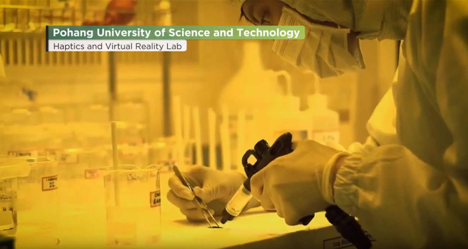 IROS TV 2019- Pohang University of Science and Technology- Haptics and Virtual Reality Laboratory