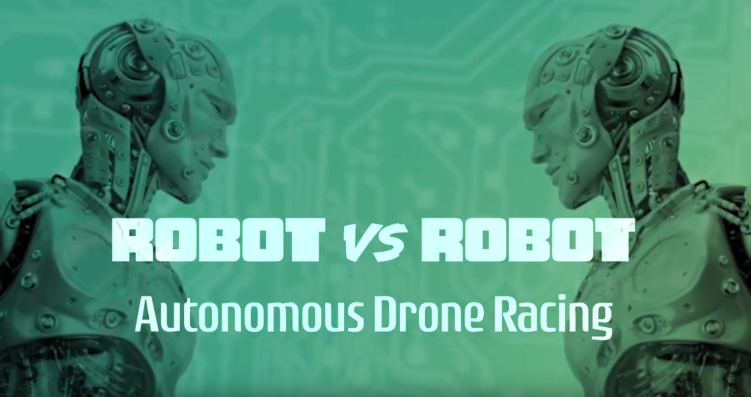 IROS TV 2019- Robot vs. Robot- Autonomous Drone Racing