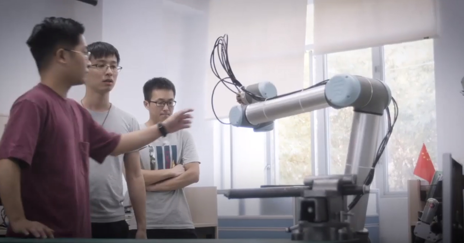 IROS TV 2019- Shantou University- Institute of Robotics and Intelligent Manufacturing