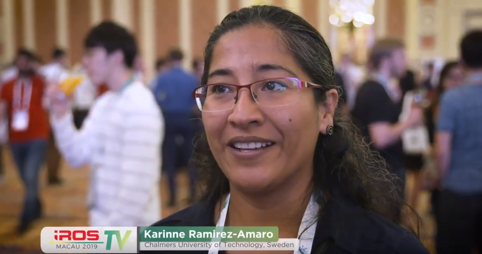 IROS TV 2019- Welcome to IROS 2019- Welcome Reception
