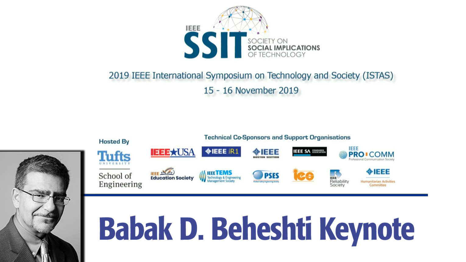 Engineering Workforce of the 21st Century: ISTAS 2019 Keynote by Babak D. Beheshti