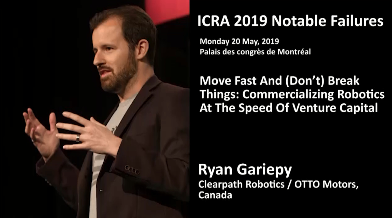 2019 ICRA Notable Failures with Ryan Gariepy