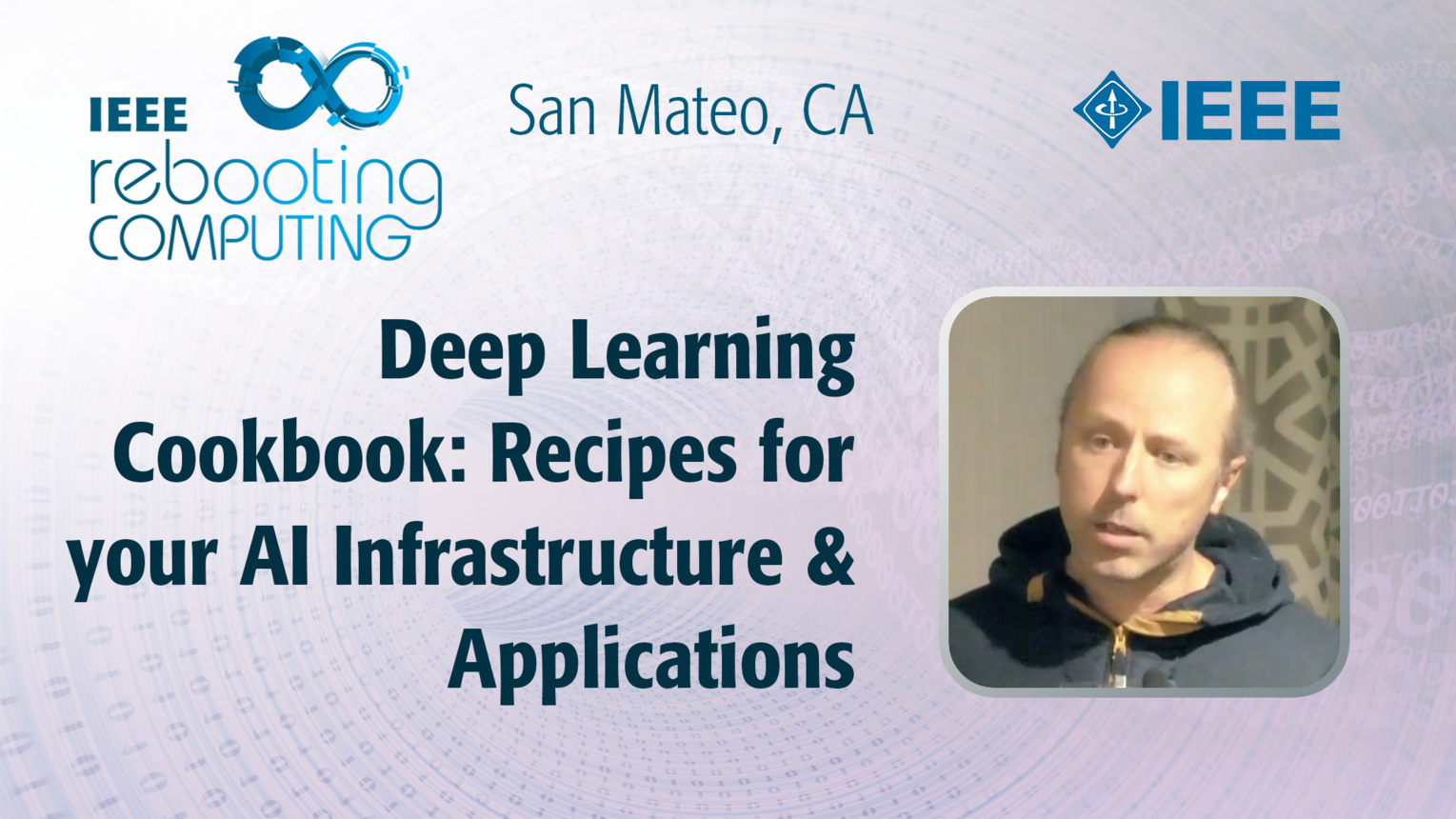 Deep Learning Cookbook - Sergey Serebryakov - ICRC San Mateo, 2019