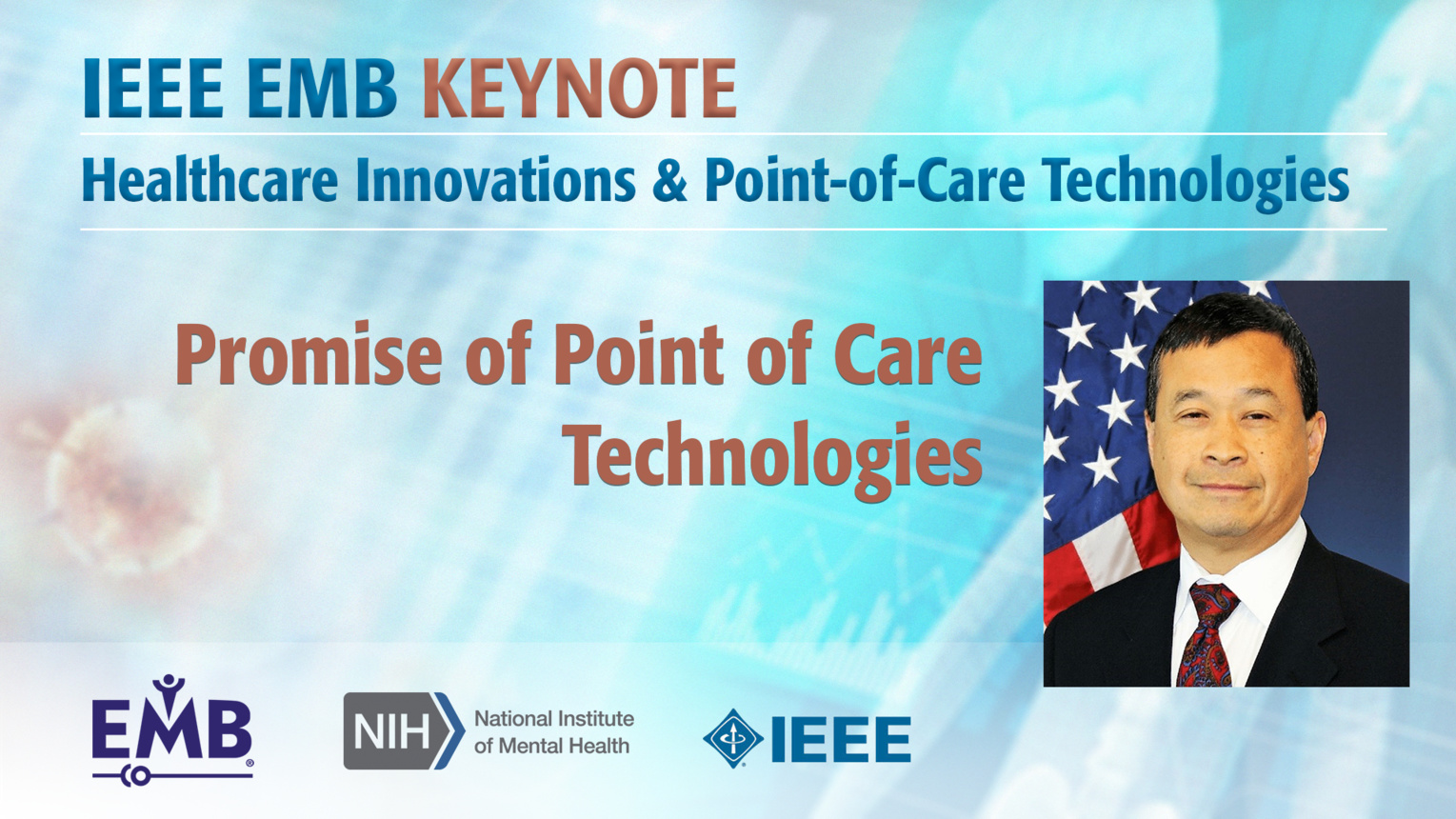 Promise of Point of Care Technologies - Keynote Geoffrey Ling - IEEE EMBS at NIH, 2019