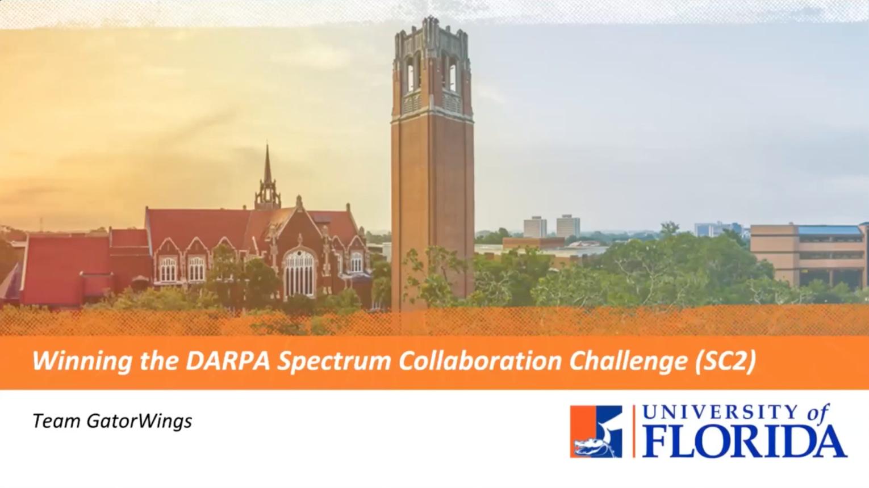 Winning the DARPA Spectrum Collaboration Challenge - IEEE Future Networks webinar