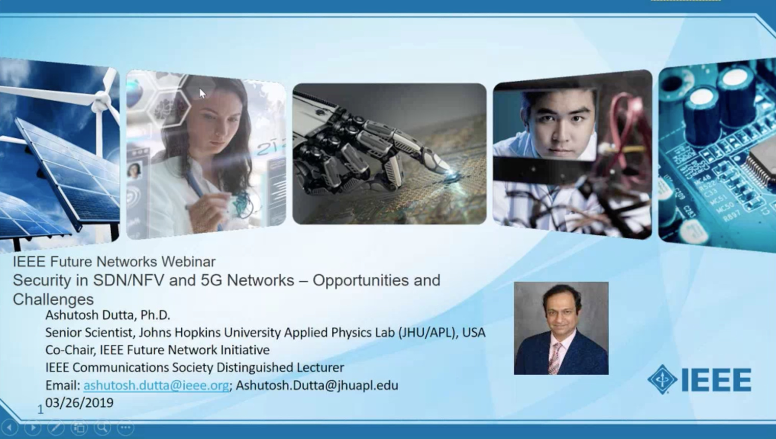 Security in SDN/NFV and 5G Network: Opportunities and Challenges - IEEE Future Networks Initiative