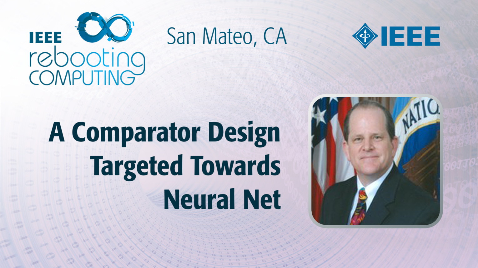 A Comparator Design Targeted Towards Neural Net - David Mountain - ICRC San Mateo, 2019