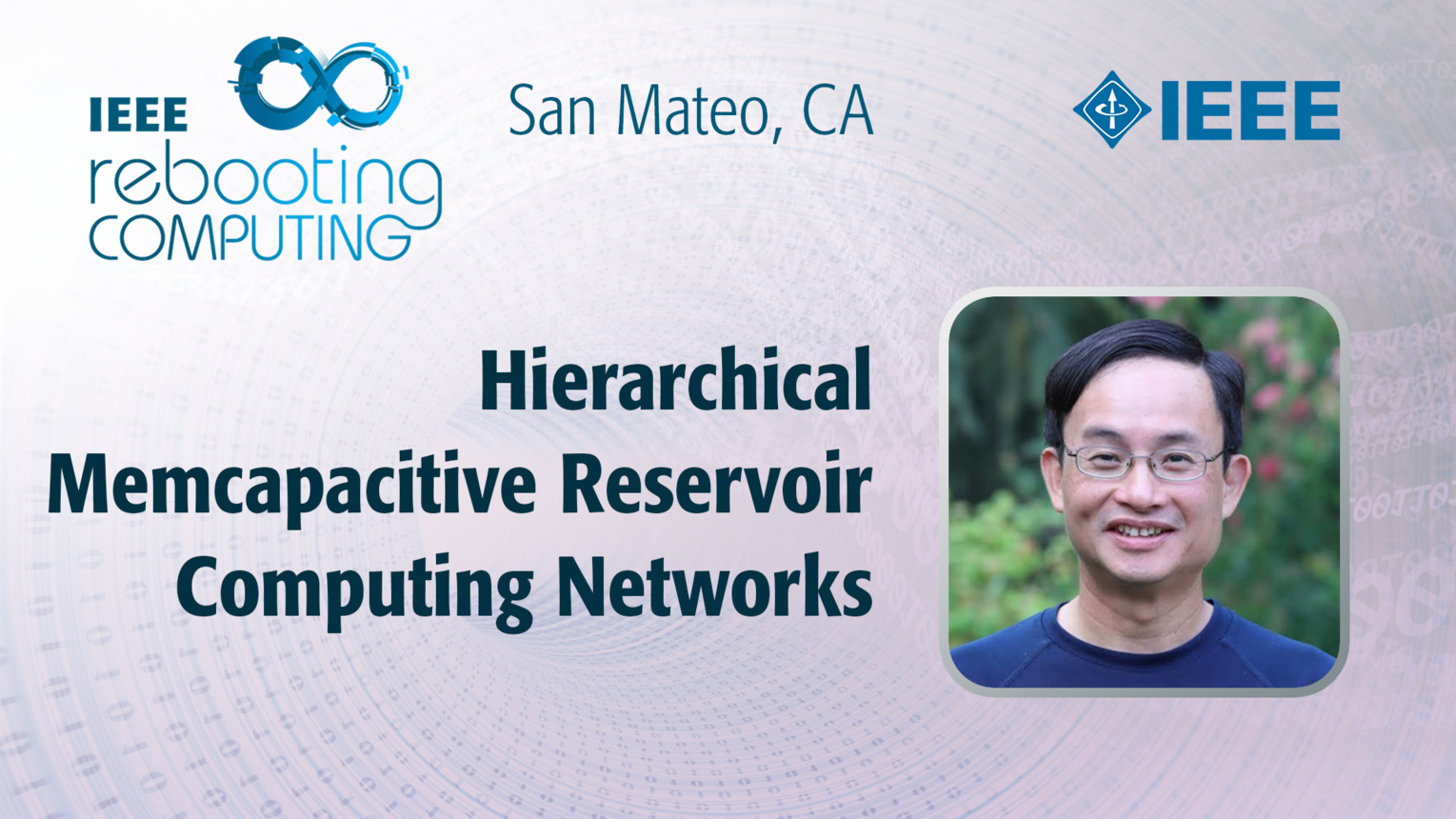 Hierarchical Memcapacitive Reservoir Computing Networks - Dat Tran - ICRC San Mateo, 2019