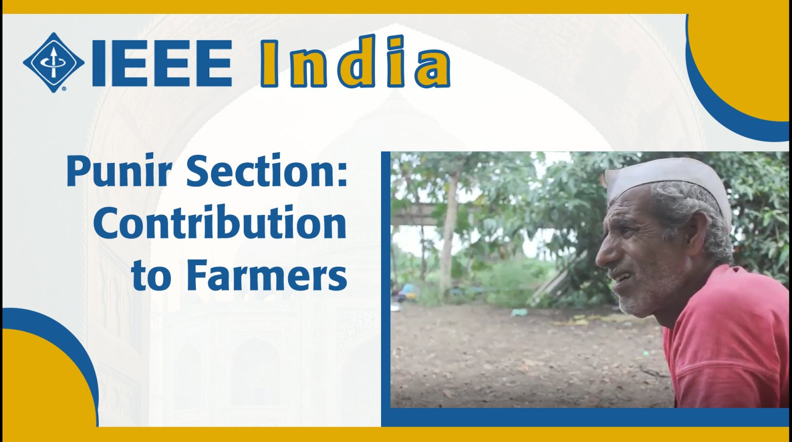 IEEE India - Pune Section: Contribution to the Farmers
