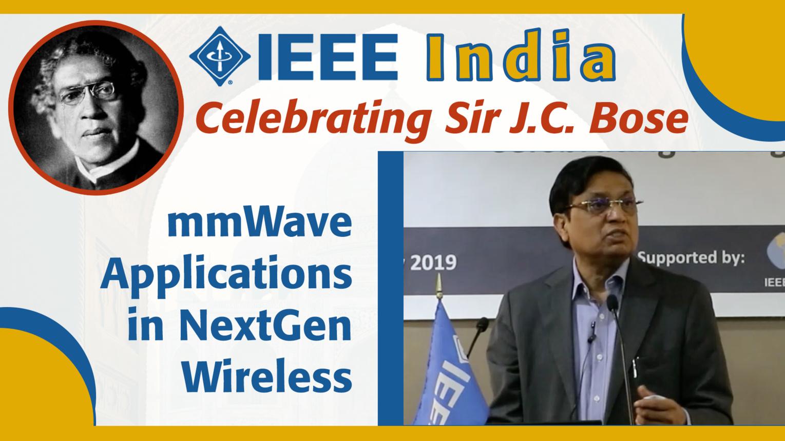 mmWave Applications in NextGen Wireless Broadband - C.S. Rao - IEEE India