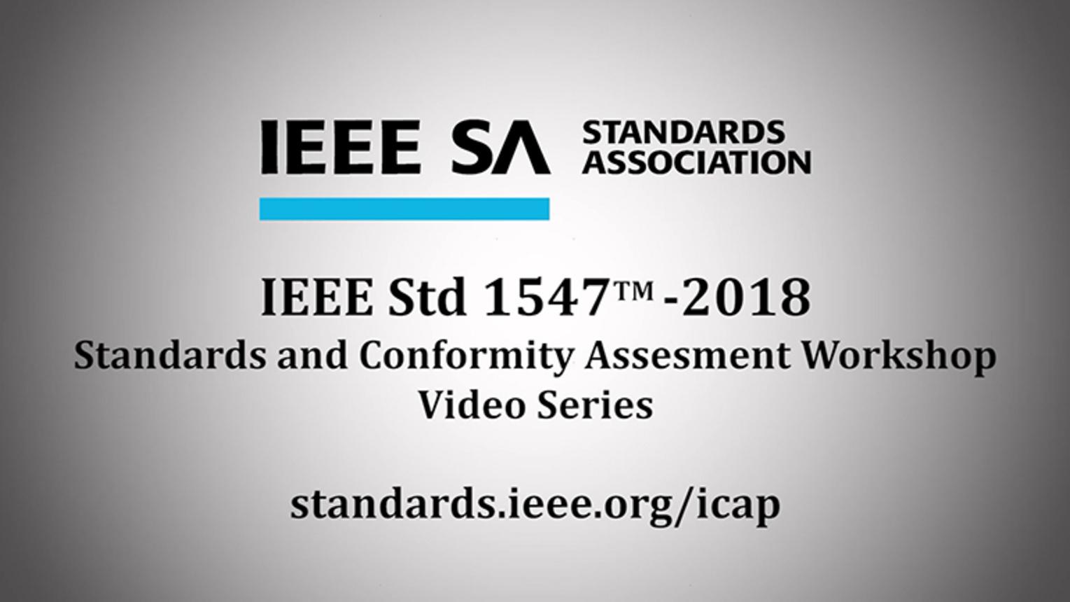 IEEE Std 1547