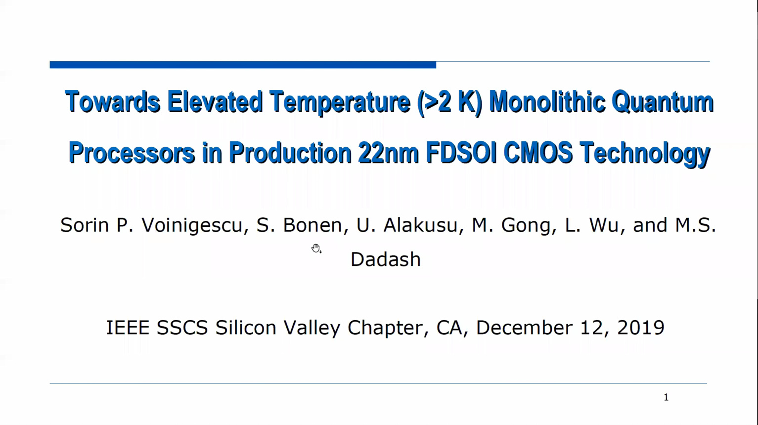 """Towards Monolithic Quantum Computing Processors In Production FDSOI CMOS Technology"""