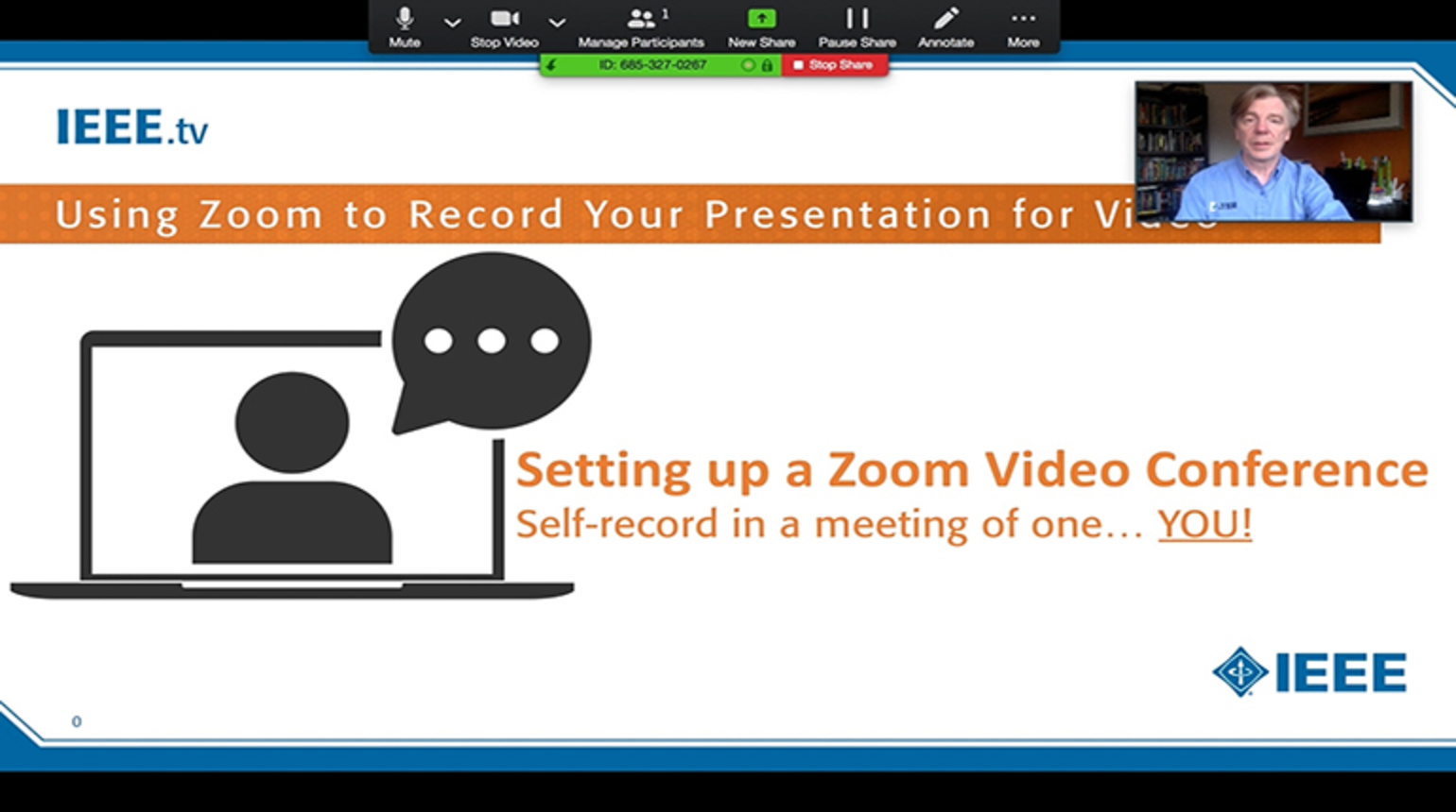 Recording Your Presentation with Zoom