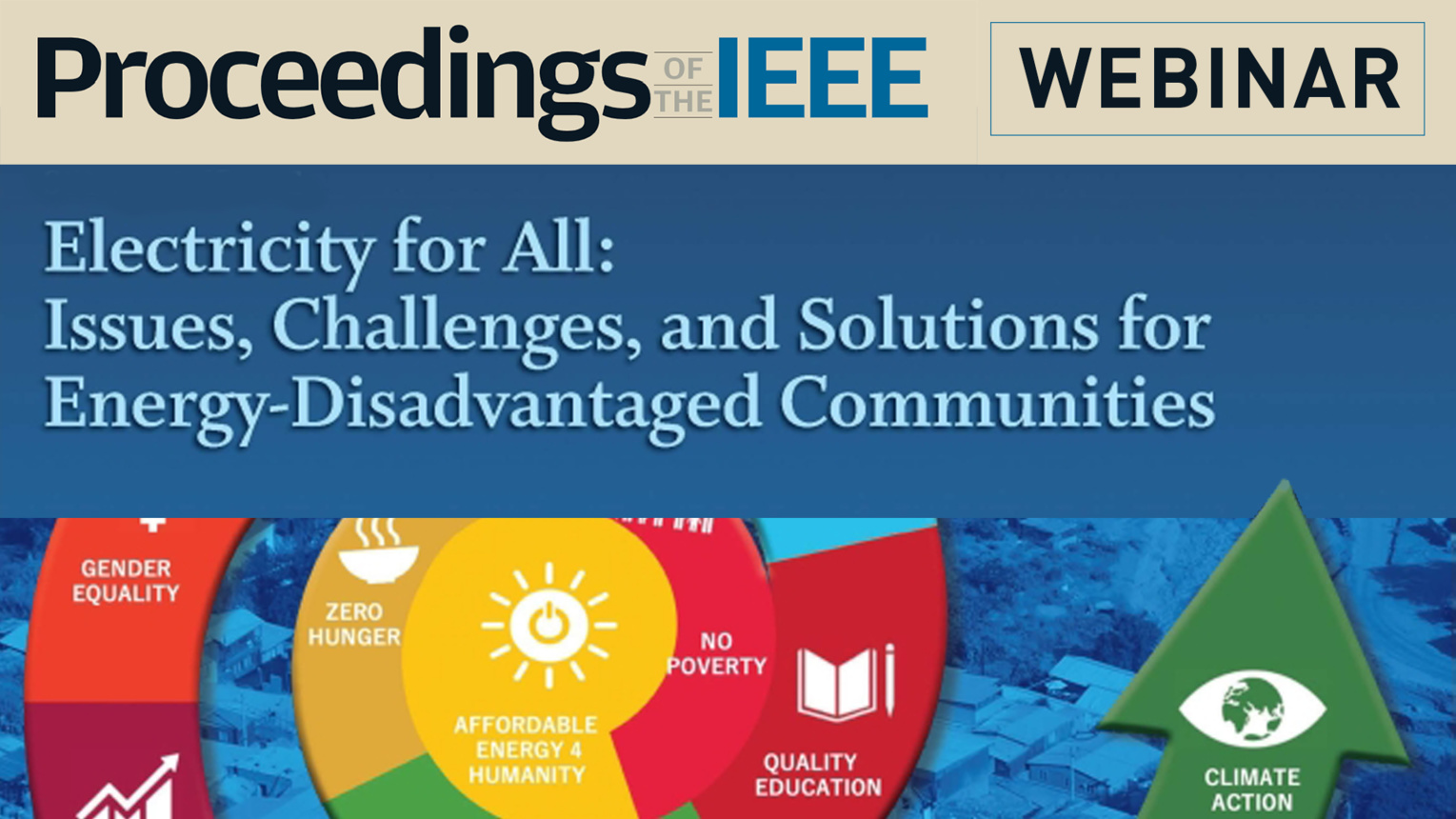 Electricity for All - Proceedings of the IEEE Webinar
