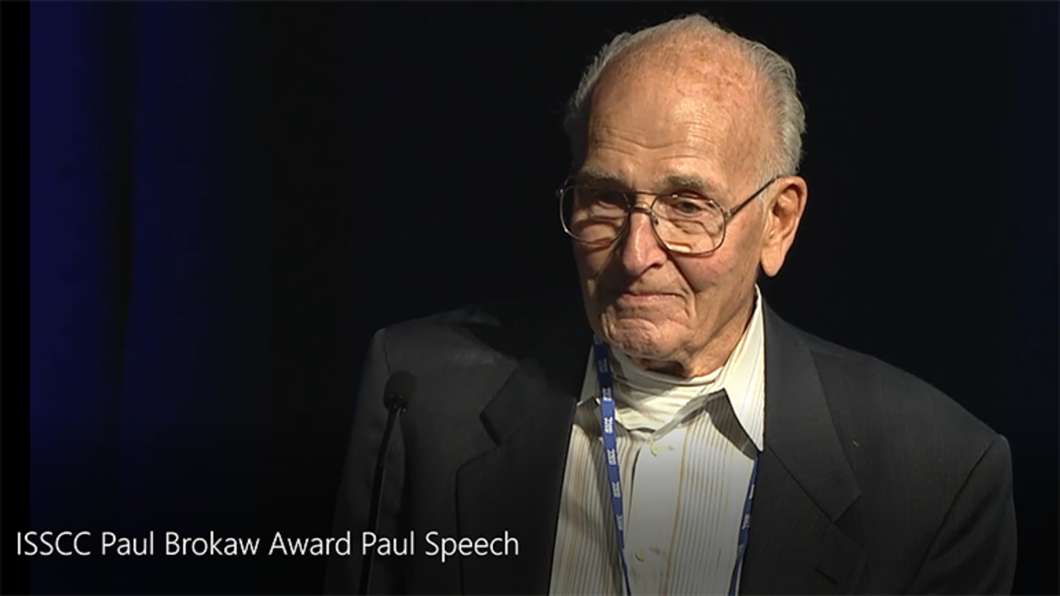 ISSCC Paul Brokaw Award - Full Speech