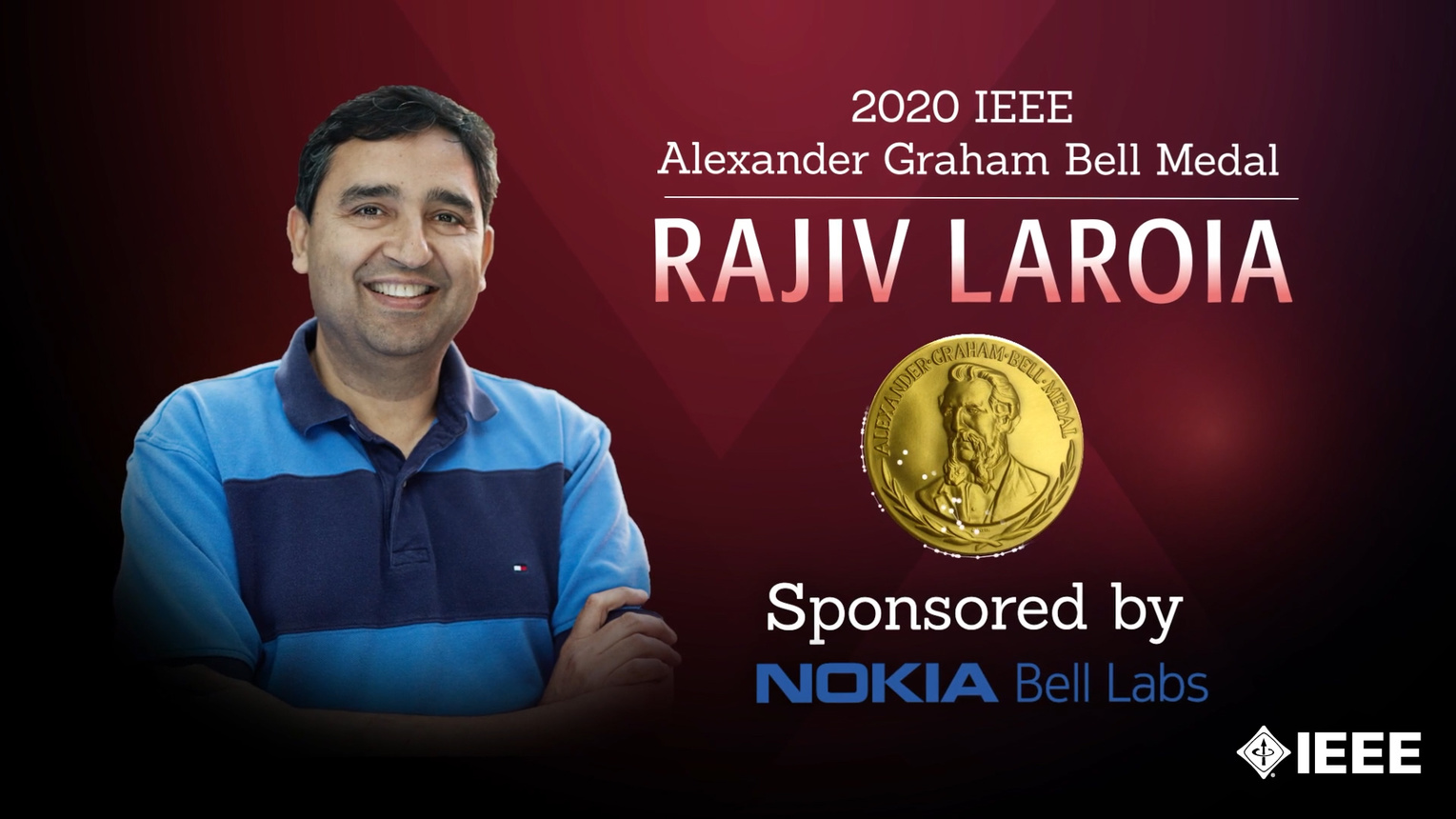 Honors 2020: Rajiv Laroia Wins the IEEE Alexander Graham Bell Medal