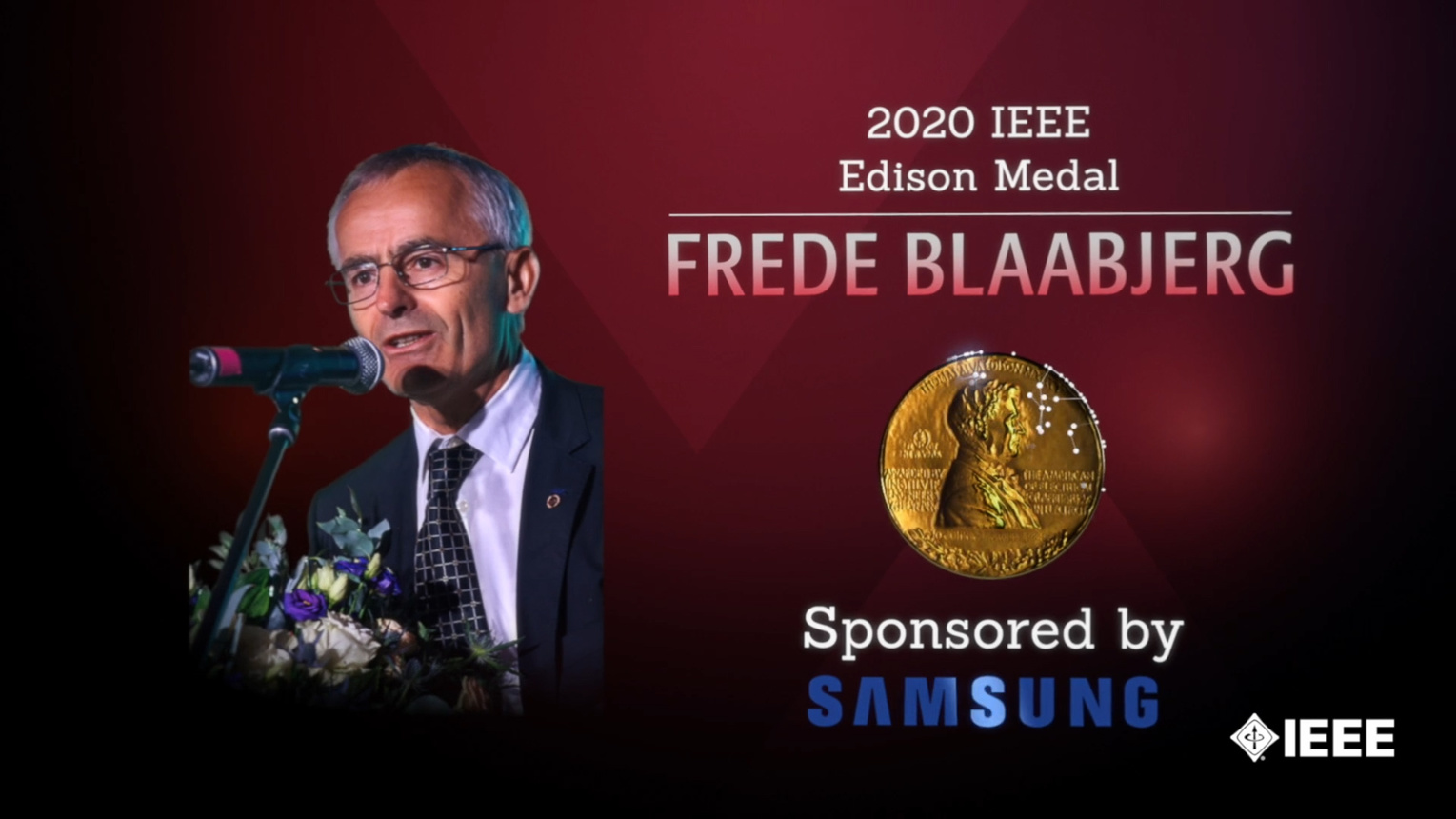 Honors 2020: Frede Blaabjerg Wins the IEEE Edison Medal