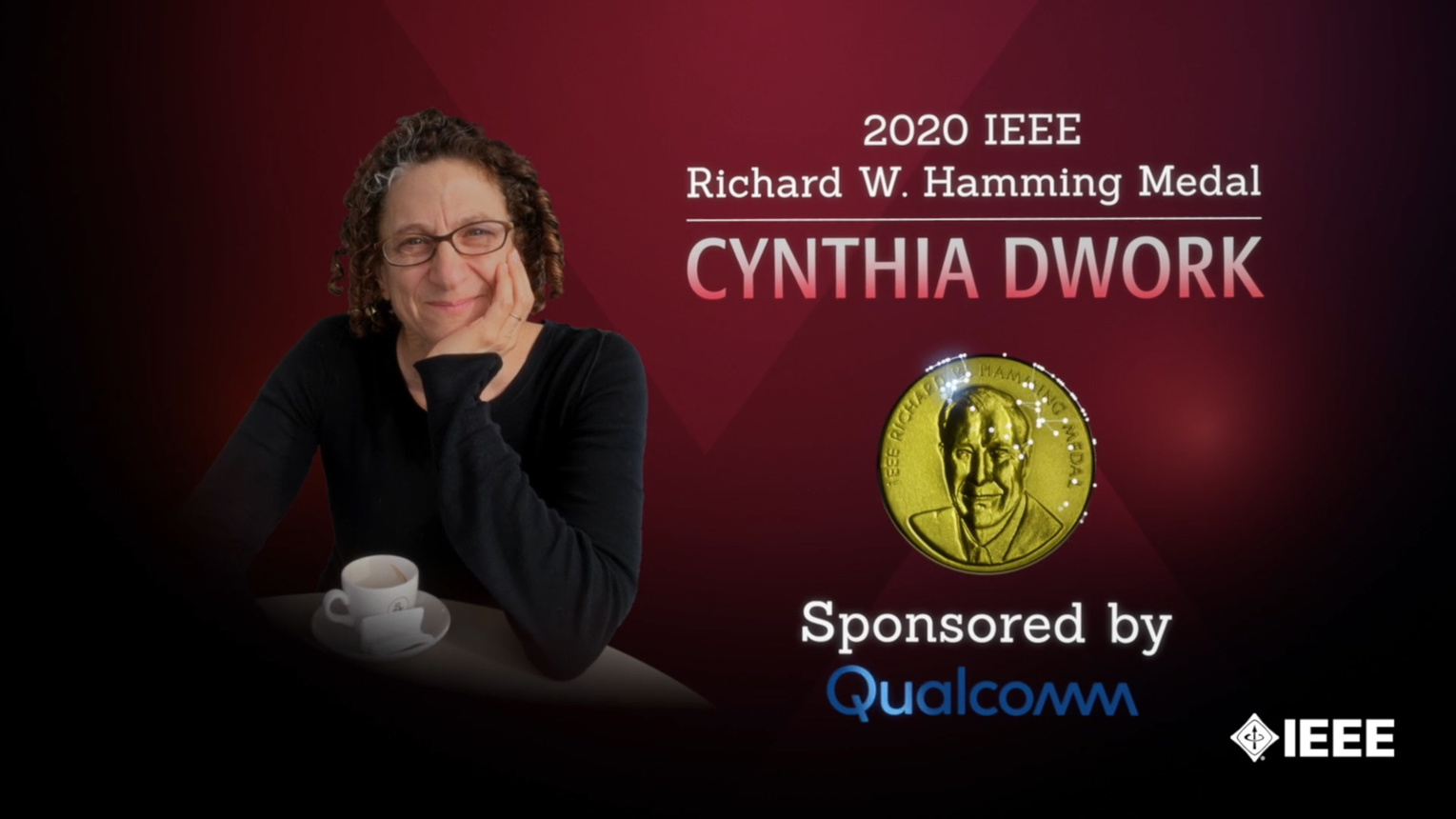 Honors 2020: Cynthia Dwork Wins the IEEE Richard W. Hamming Medal