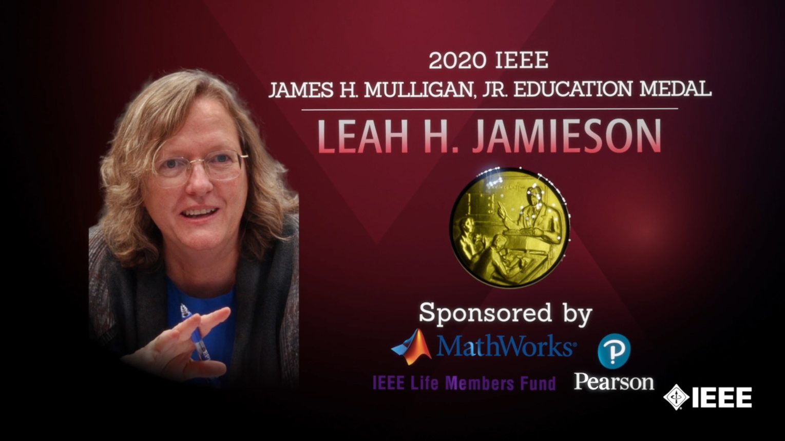 Honors 2020: Leah H. Jamieson Wins the James H. Mulligan, Jr. Education Medal