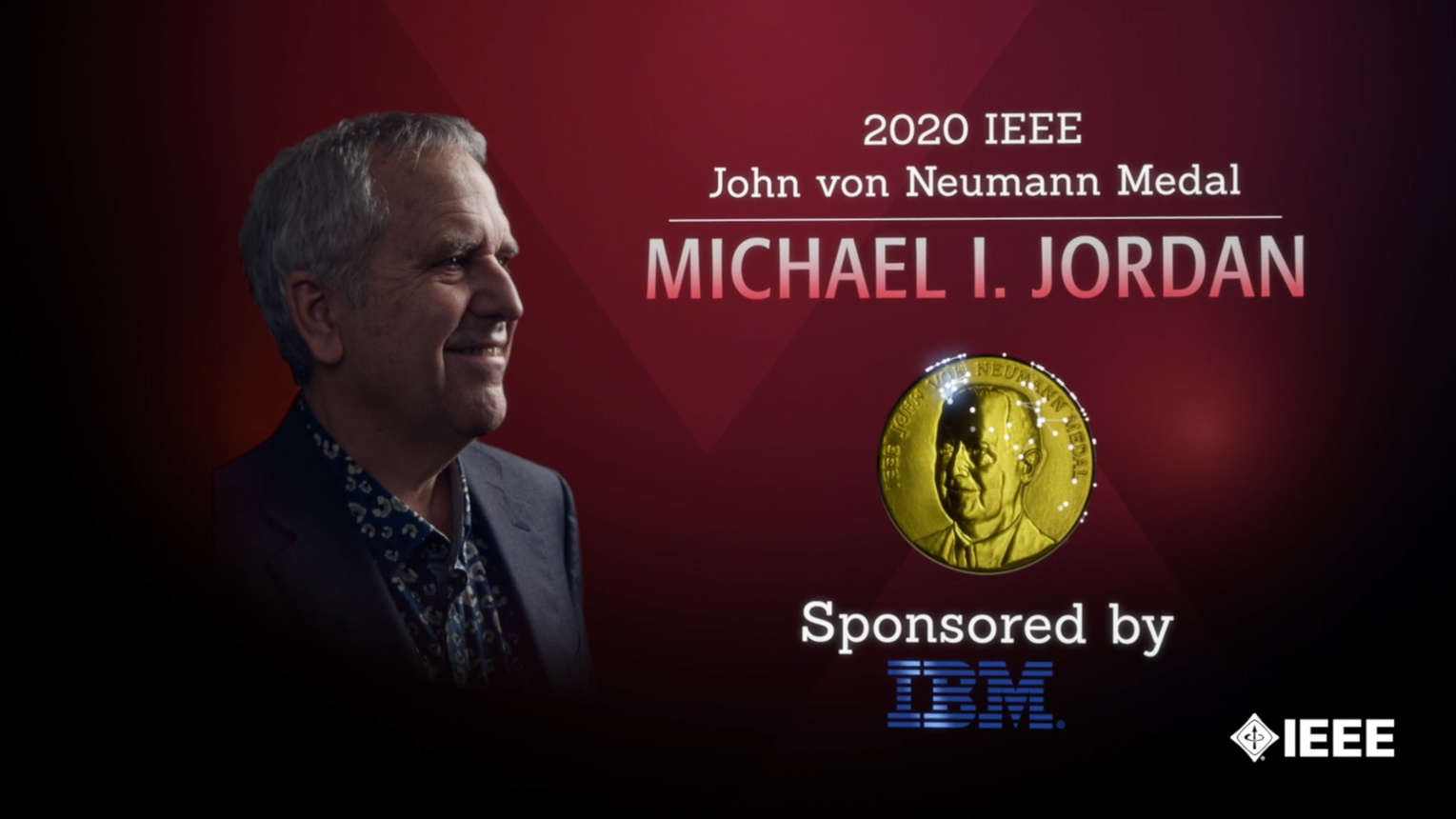 Honors 2020: Michael I. Jordan Wins the IEEE John von Neumann Medal