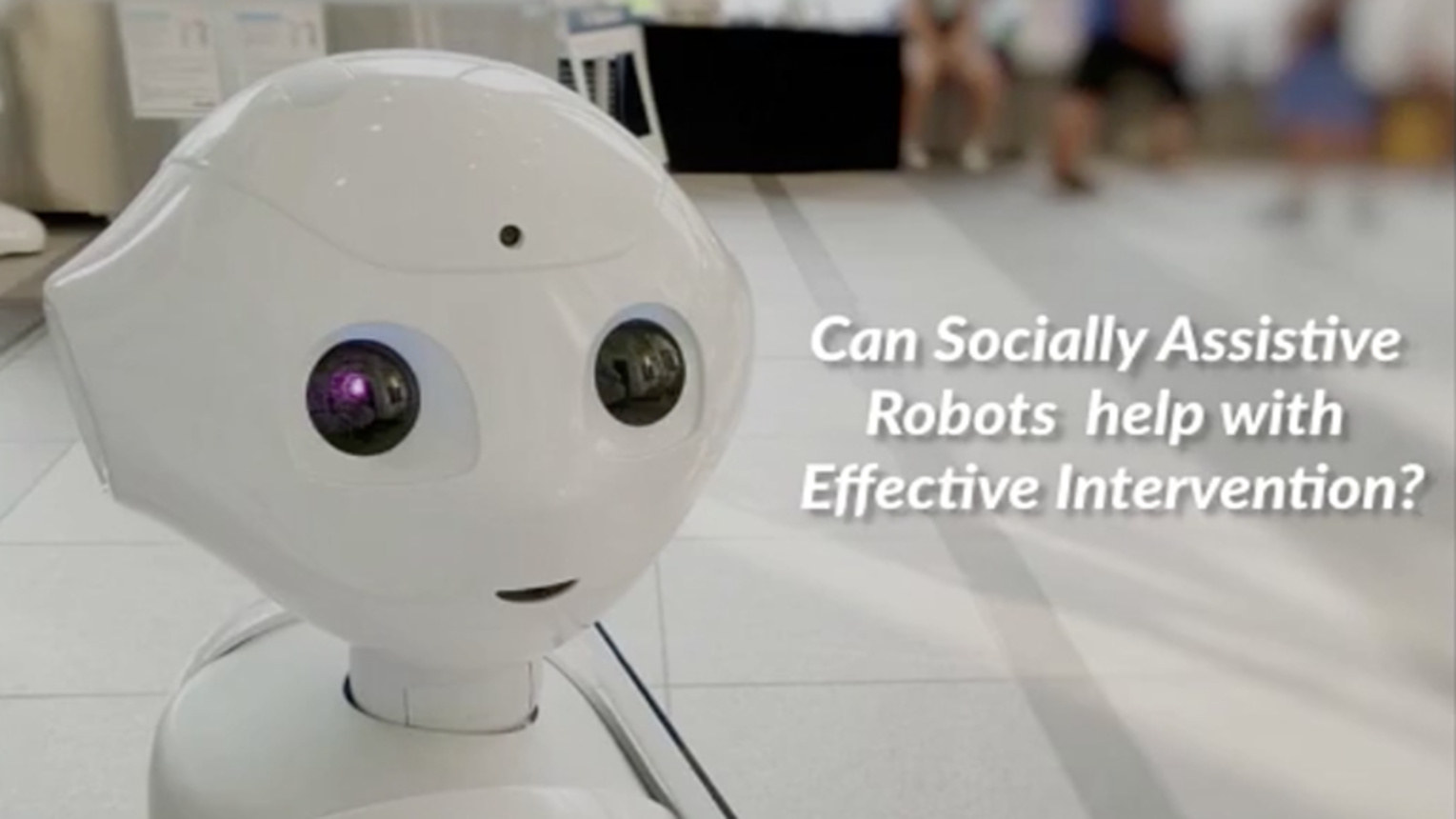Teaching assistance through social robotics for ASD
