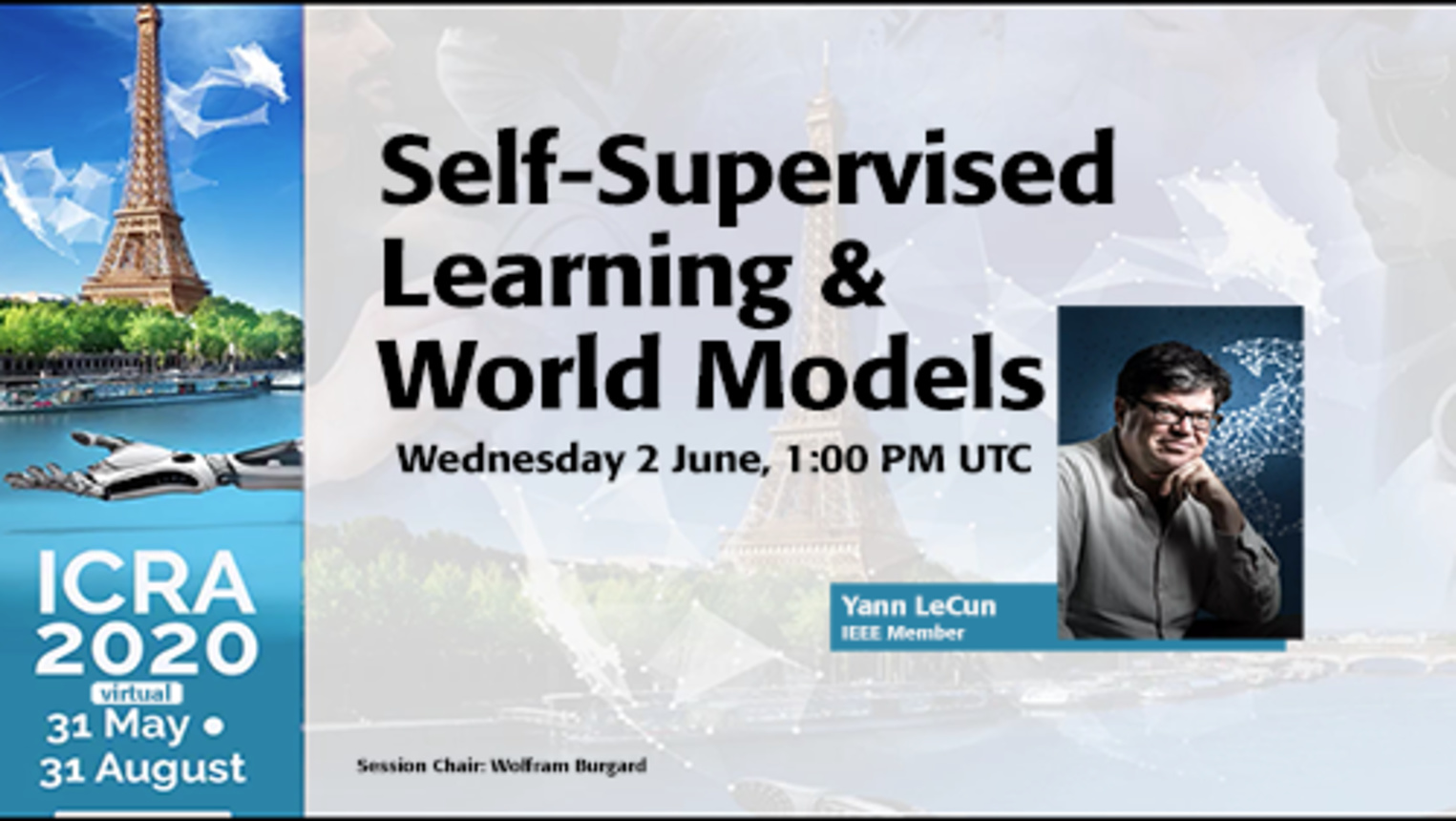 Self-Supervised Learning & World Models - ICRA 2020