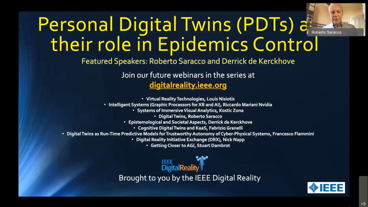 Personal Digital Twins and Their Role in Epidemics Control