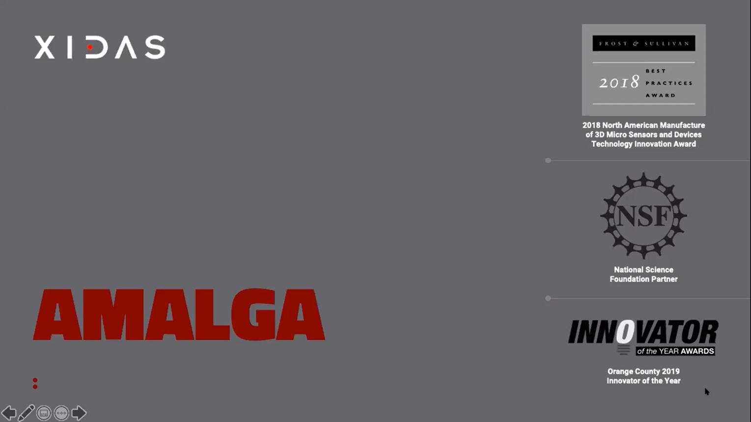 Amalga: Alternative to MEMS Technology for Miniature RF Components