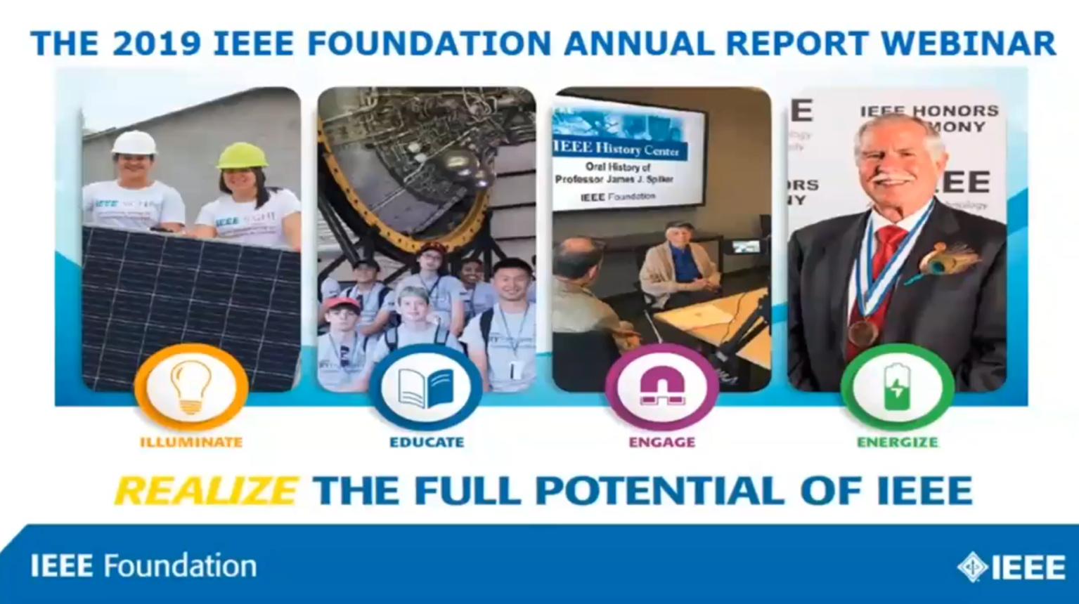 IEEE Foundation Leadership Shares Program Impacts