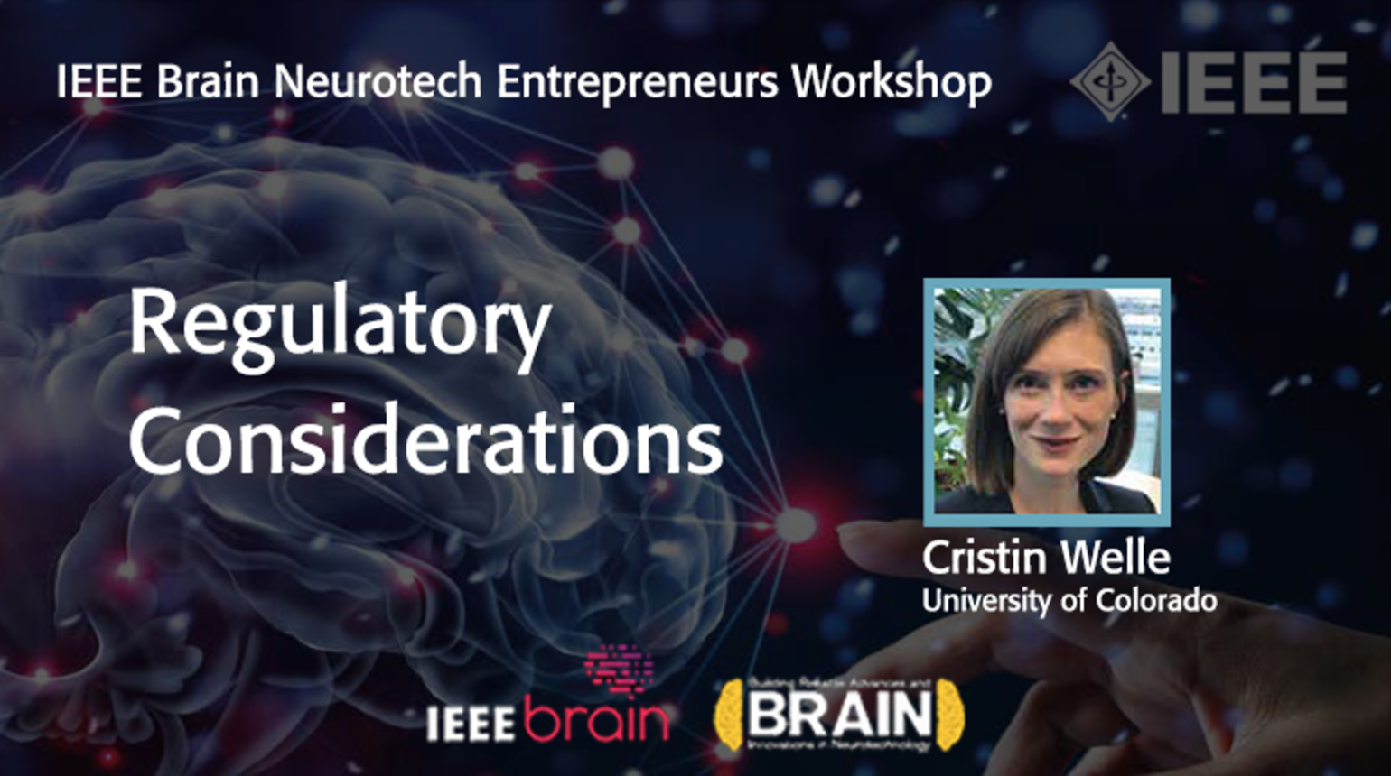 IEEE Brain: Regulatory Considerations