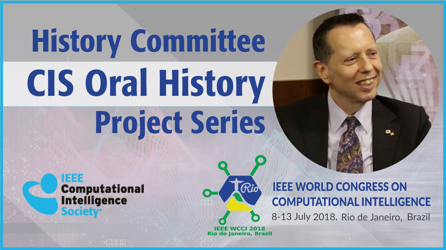 Vincenzo Piuri: History Committee CIS Oral History Project Series