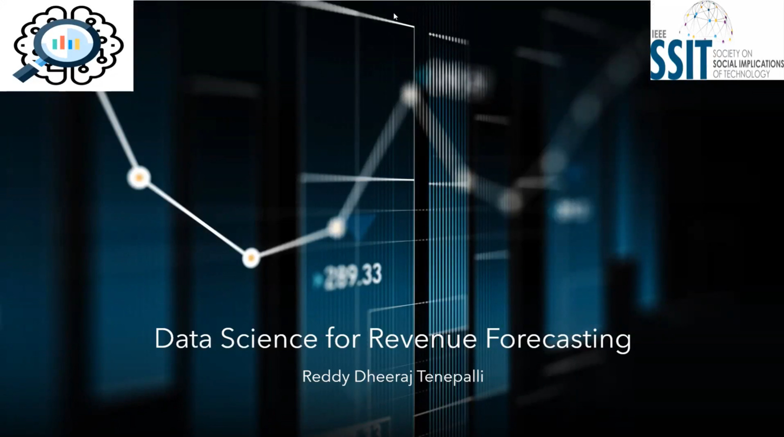 Data Science for Revenue Forecasting System | DSBC 2020