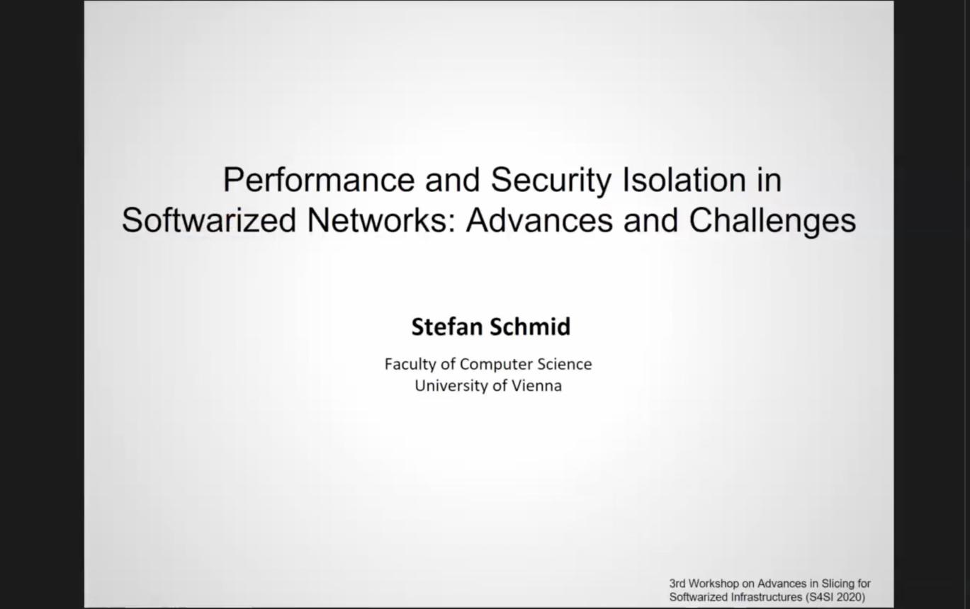 NetSoft 2020 - S4SI 2020 Keynote 1