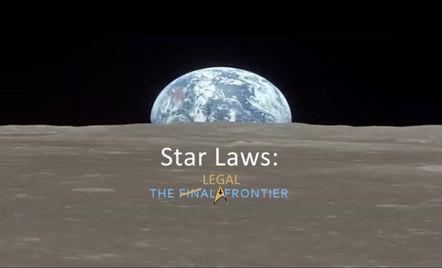 Space Law The Final Frontier