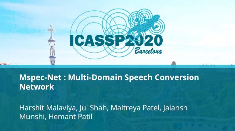 Mspec-Net : Multi-Domain Speech Conversion Network