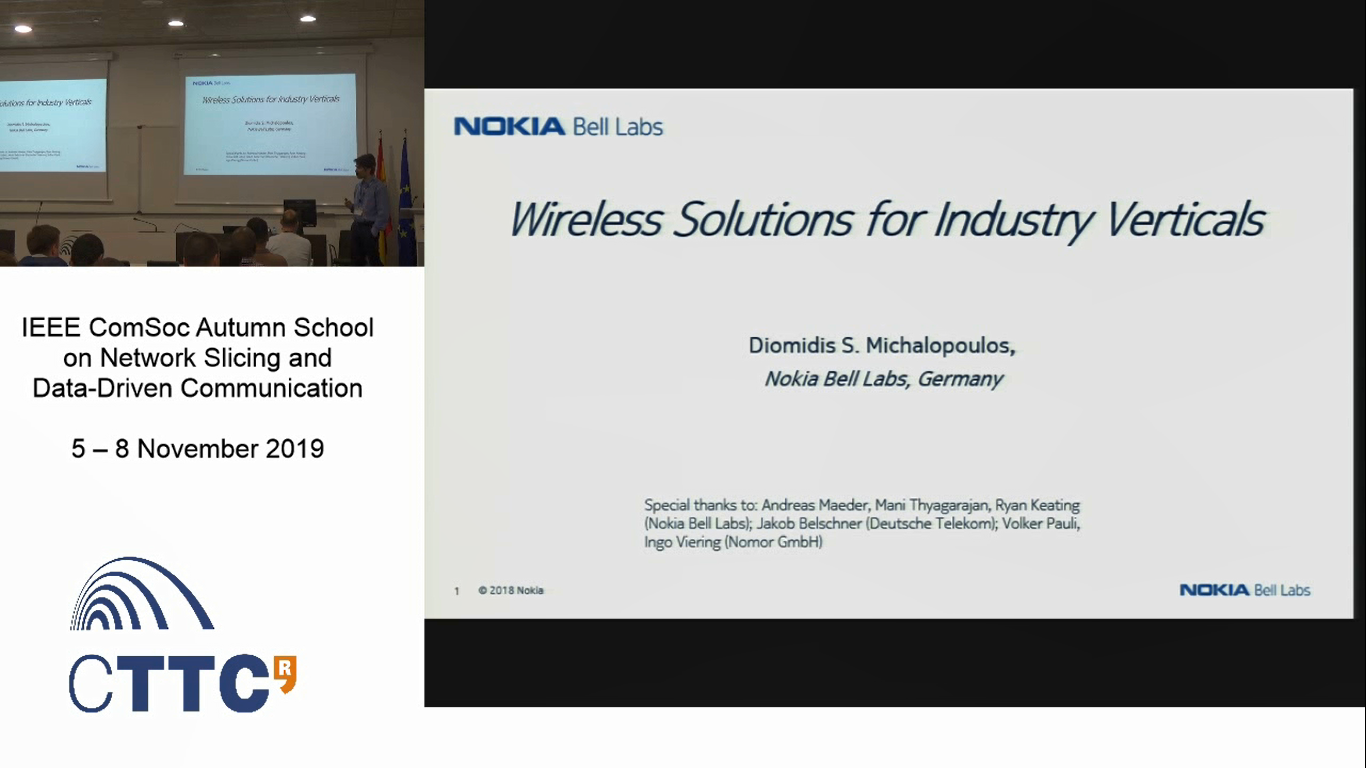 Wireless Solutions for Industry Verticals Part 2