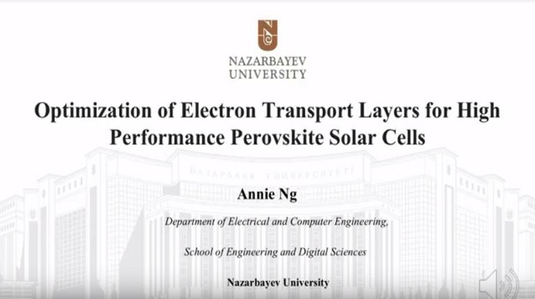 Optimization of Electron Transport Layers for High Performance Perovskite Solar Cells