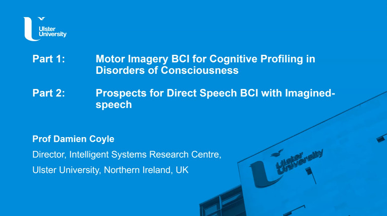 IEEE Brain: Motor Imagery BCI for Cognitive Profiling in Disorders of Consciousness and Prospects for Direct Speech BCI with Imagined-speech