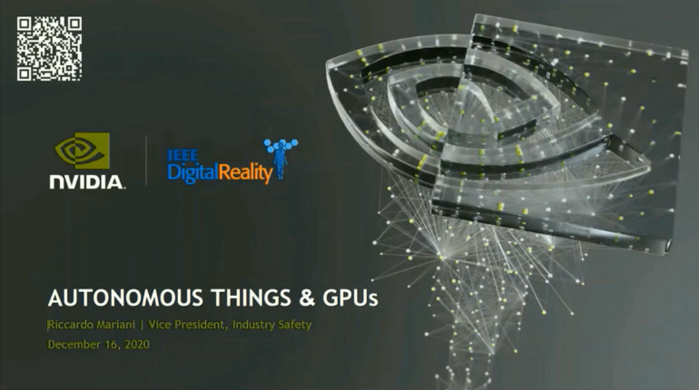 IEEE Digital Reality: Autonomous Things and GPUs