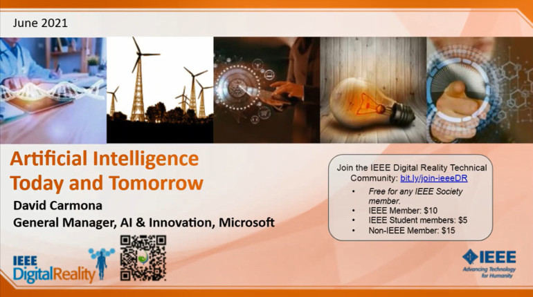 IEEE Digital Reality: Artificial Intelligence for Business: Today and Tomorrow