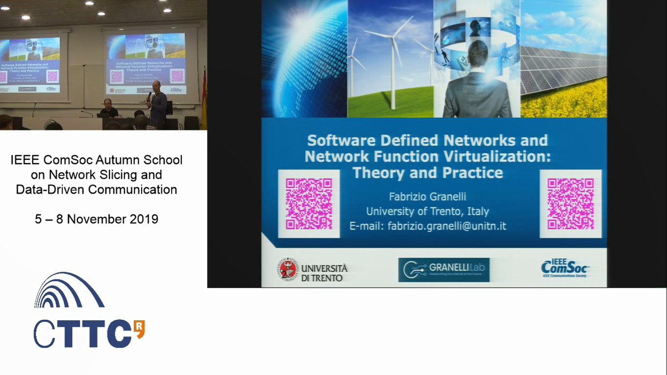 Software Defined Networks and Network Function Virtualization: Theory and Practice Part 2