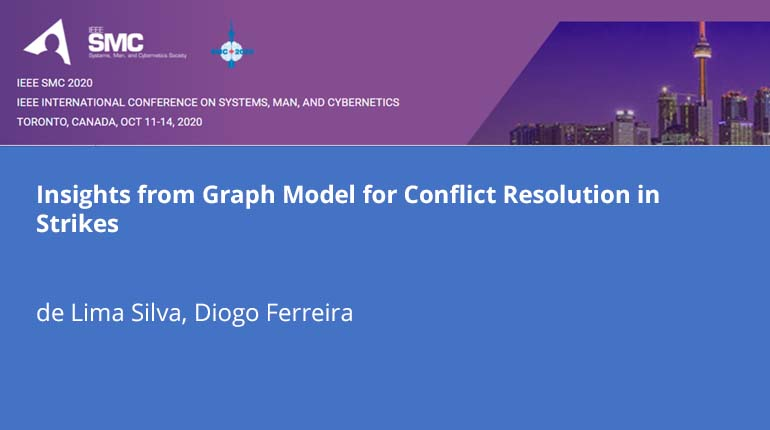 Insights from Graph Model for Conflict Resolution in Strikes