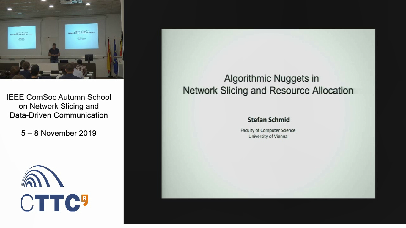 """""""Algorithmic Nuggets in Network Slicing and Resource Allocation"""" Part 1"""