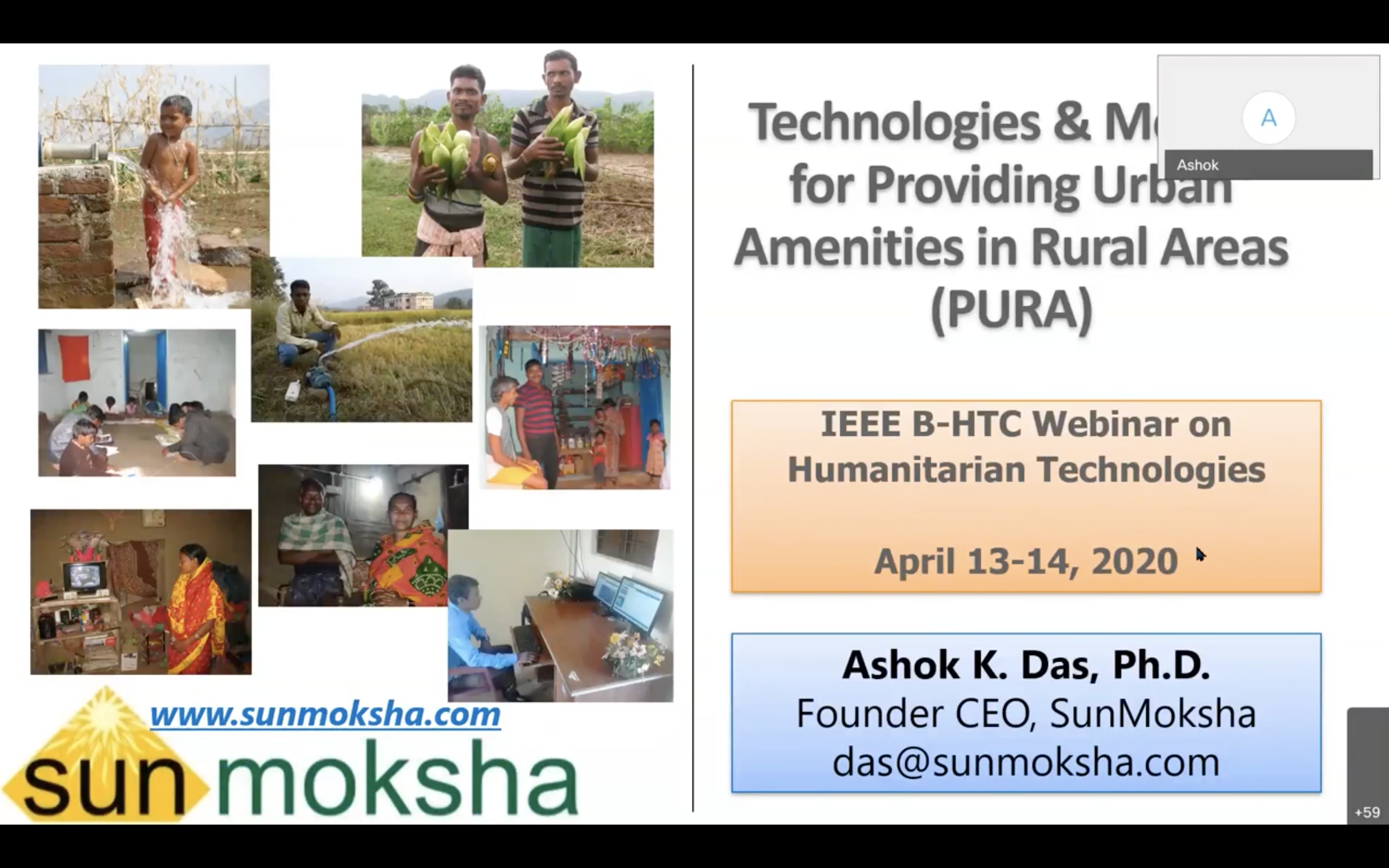 Technologies & Models for Providing Urban Amenities in Rural Areas